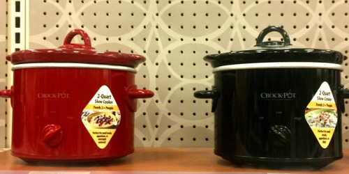 Crock-Pot 2-Quart Slow Cooker Only $8.49 at Target (Perfect Size for Dips)
