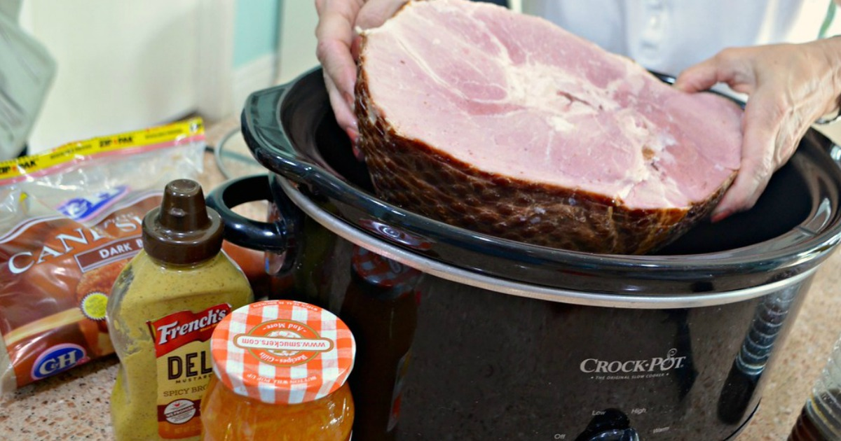 crock-pot ham recipe