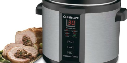 Cuisinart 6-Quart Electric Pressure Cooker Just $49.99 Shipped (Regularly $100)