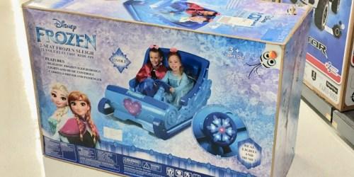 Frozen Sleigh Ride-On Just $149 at Walmart (Regularly $298)