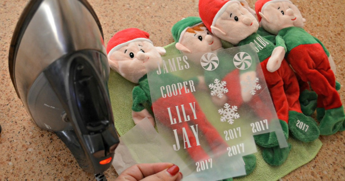 Great for crafting! Christmas 1 Plush Elf Toy Stuffed Elves BOY Available