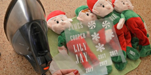 My Elf on the Shelf Came From Dollar Tree… AND It's NOW Personalized