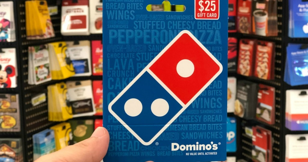 25 domino 39 s pizza egift card only 20 hip2save - Where can i use olive garden gift card ...