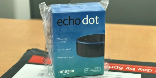 Amazon Echo Dot 2nd Generation Only $14.99 (In Used/Good Condition)