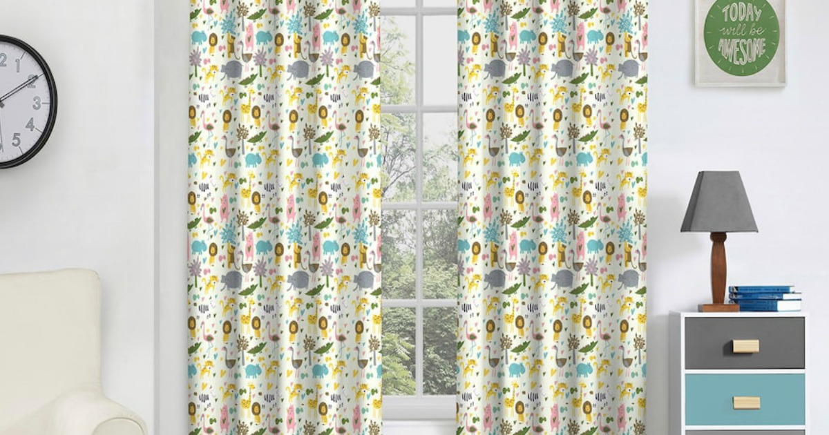 incredible Kohls Curtain Part - 4: Hop on over to Kohls.com where select eclipse Window Treatments are marked  down by as much as 65% off! Even sweeter, through November 24th, you can  save 15% ...
