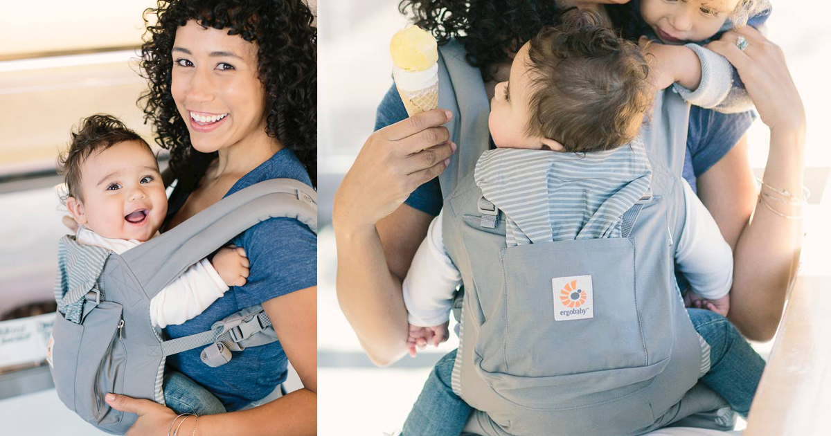 Zulily Ergobaby Multi Position Baby Carrier Only 55 79