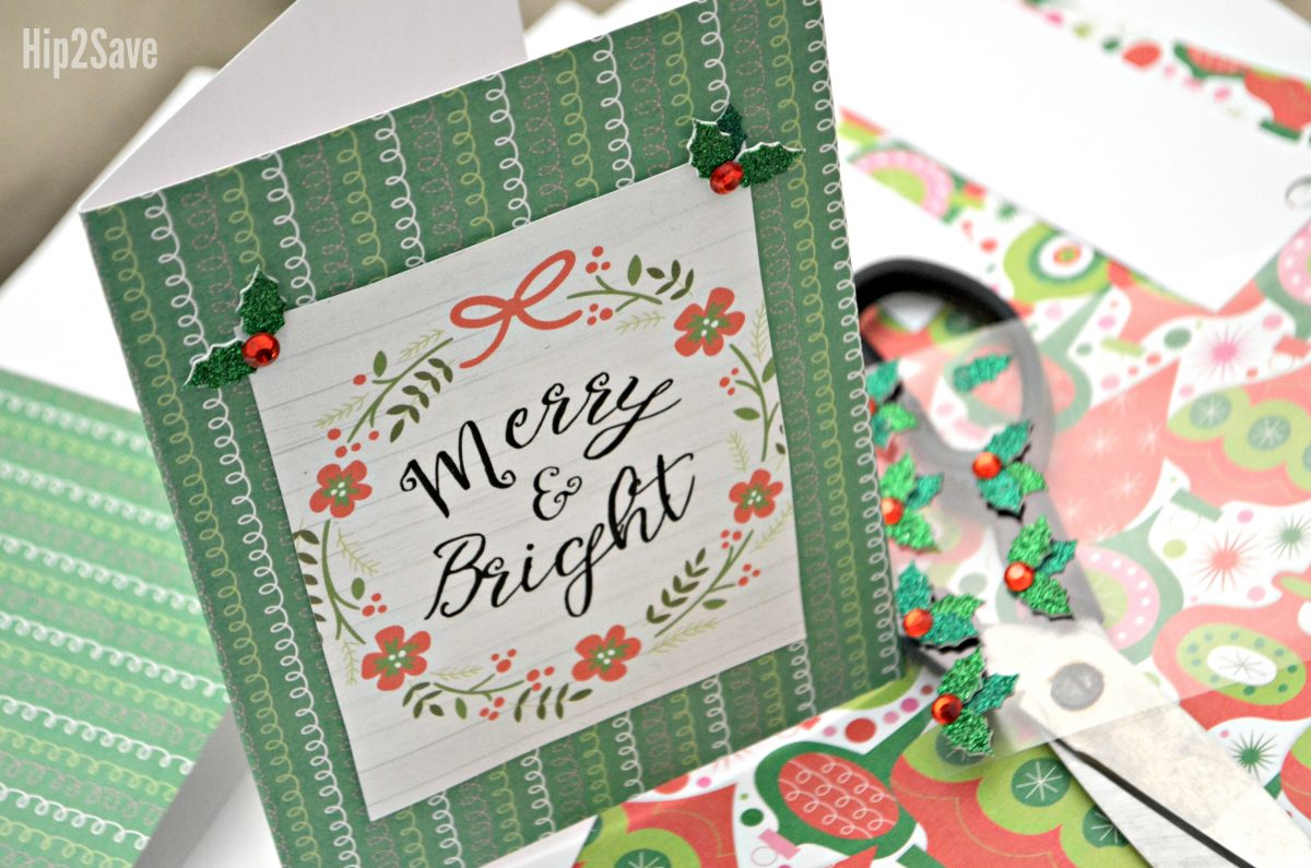 Merry & Bright printable sign