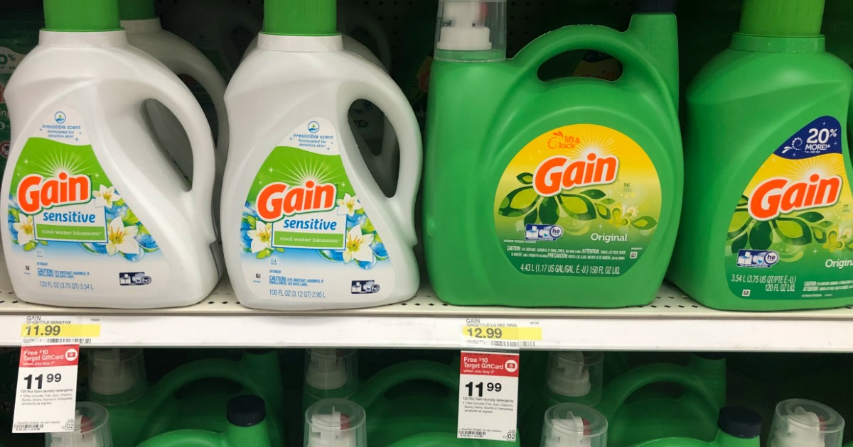 photograph relating to Free Printable Gain Laundry Detergent Coupons called Focus: Major Profit Laundry Detergent $6.66 Every Following Reward