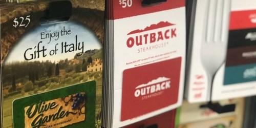 2019 Holiday Restaurant & Retail Gift Card Deals