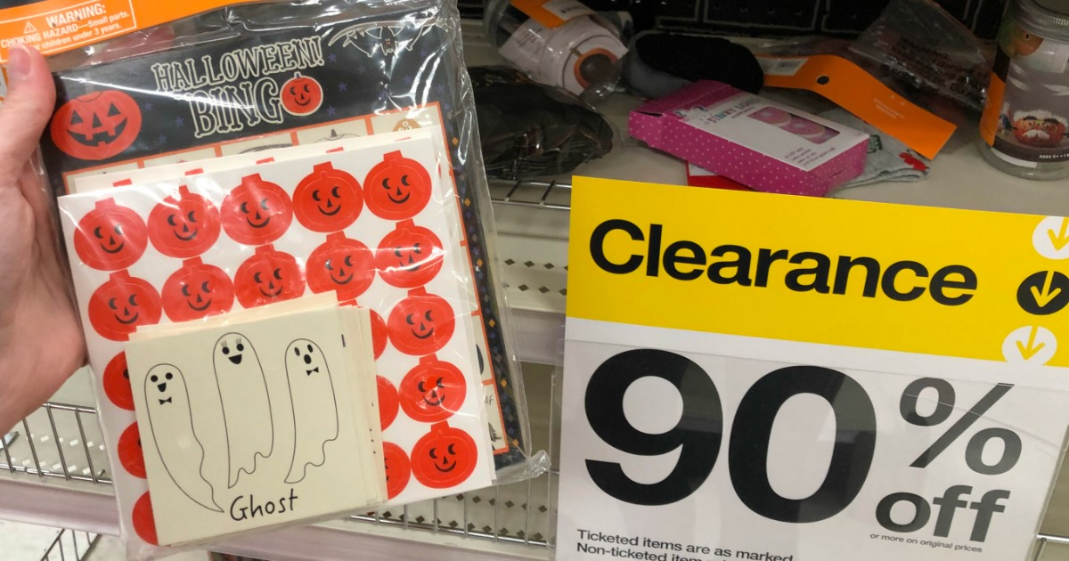 Halloween Clearance stickers