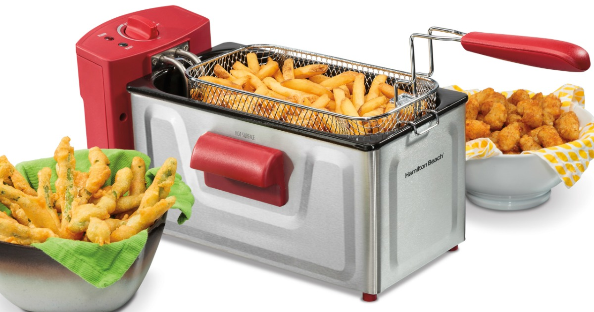 Walmart Com Hamilton Beach Professional Deep Fryer 19 88 Hip2save