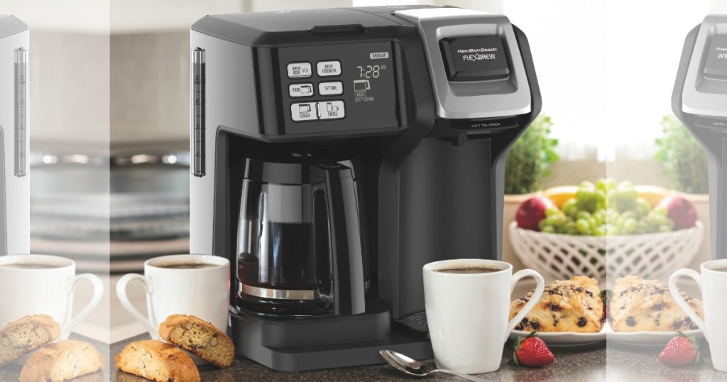 black flexbrew coffee maker hamilton beach