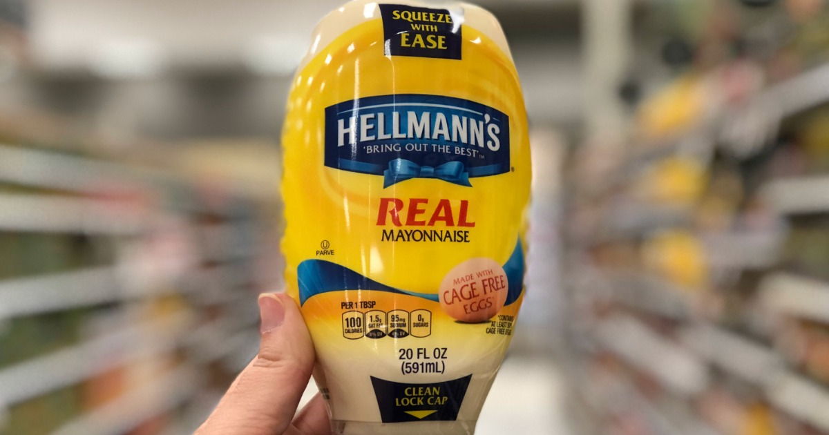 Target: Hellmann's Mayonnaise as Low as 94¢ After Cash Back