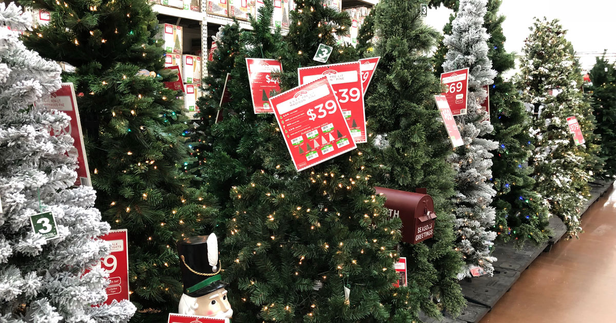 Pre-Lit Christmas Trees Just $39 Shipped at Walmart (Five ...