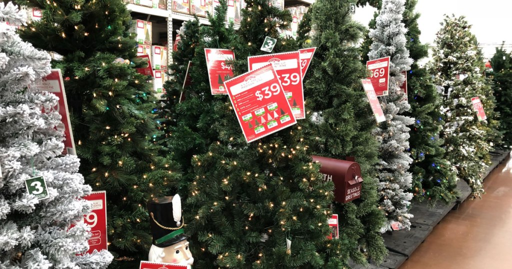 Pre Lit Christmas Trees Just 39 Shipped At Walmart Five Styles To