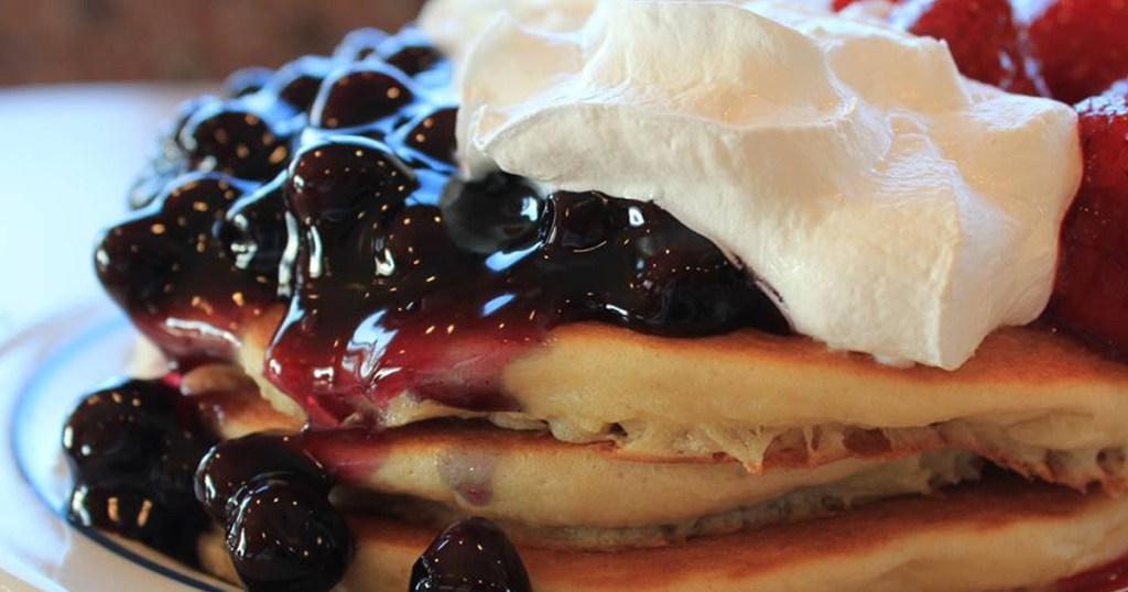 ihop redwhiteblue pancakes