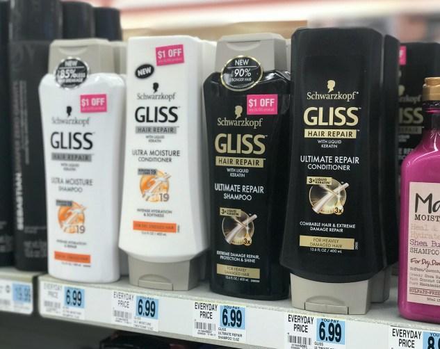 Rite Aid Gliss Haircare