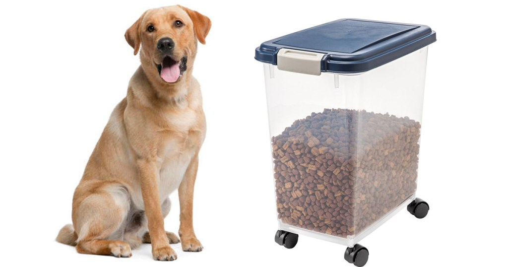 Amazon Iris Airtight Pet Food Container Only 1089 Regularly 25