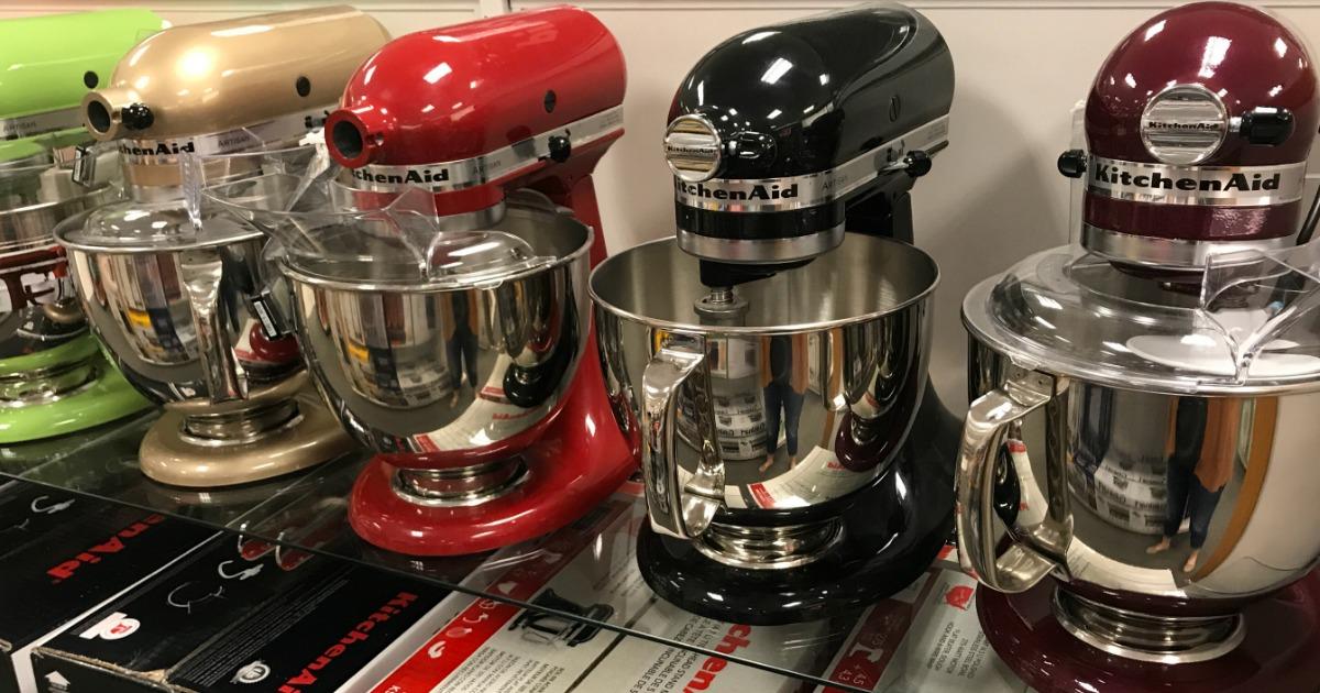Hot Buy On Kitchenaid Artisan 5 Quart Stand Mixer At Kohl