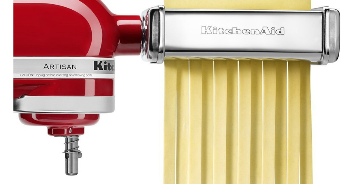 KitchenAid Pasta Roller and Fettuccine Cutter Set ONLY ...