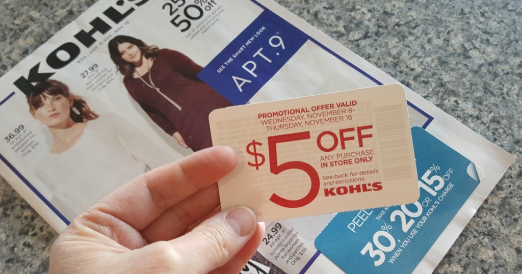 391ef14f8f59 Kohl s mails out different coupons to customers throughout the year but not  every customer will receive the same coupon at the same time.