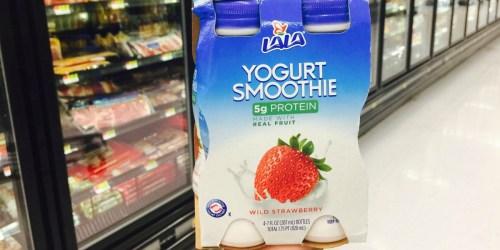 Better Than FREE LaLa Yogurt Smoothie 4-Packs at Target & Walmart After Cash Back