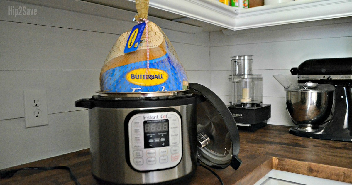 make a turkey in your instant pot