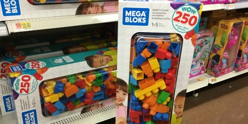 Mega Bloks Big Builders Build 'n Create 250 Piece Set Only $15 (Regularly $50) at Walmart + More