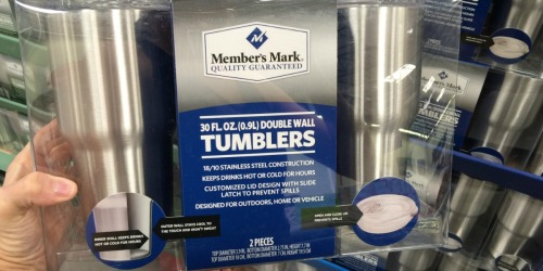 Sam's Club: Member's Mark Insulated 30 Ounce Tumblers 2-Pack Only $10.98 Shipped