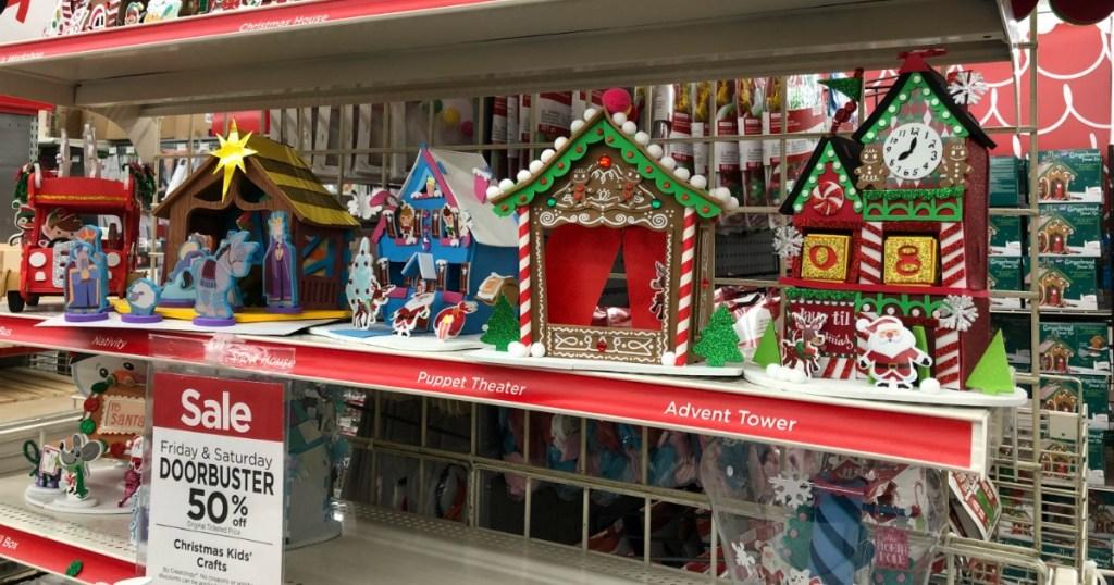 Lemax Christmas Village Michaels.Michaels 50 Off Kid Crafts Christmas Villages More