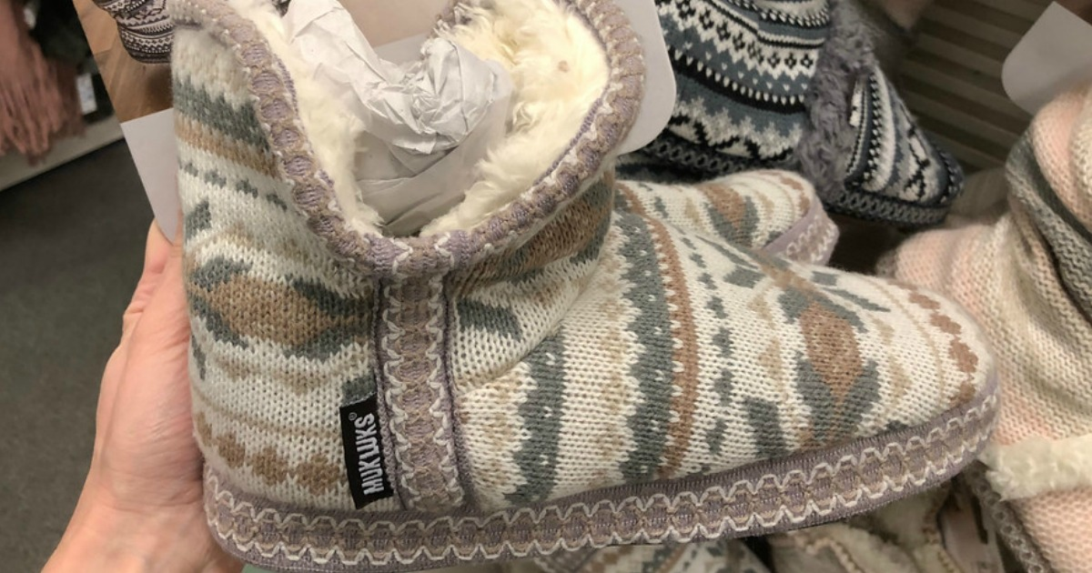 Kohl's: Up to 60% Off MUK LUKS Slippers