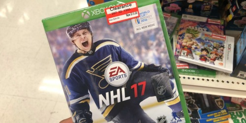 Target Clearance Finds: NHL 17 Xbox One Game Possibly 50% Off & More