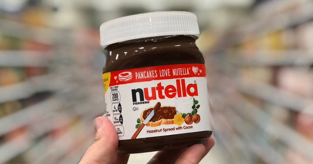 picture about Nutella Printable Coupon titled Significant Price tag $2/1 Nutella Coupon \u003d Hazelnut Distribute Precisely 99¢ at