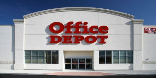 FREE $20 Office Depot Gift Card w/ $50+ Purchase