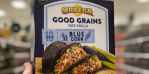Ortega Blue Corn Taco Shells Only 24¢ at Target + More