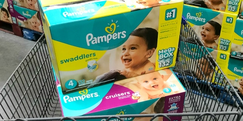 Pampers Value Pack Diapers, Baby Wipes, & $5 Walmart Gift Card as Low as $48.22 Shipped