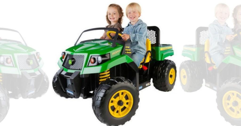 John Deere Gator XUV Battery-Powered Ride-On Only $249.00