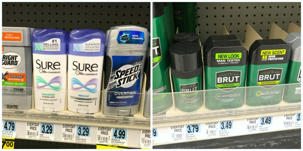 Rite Aid Best Deal Sure and Brut