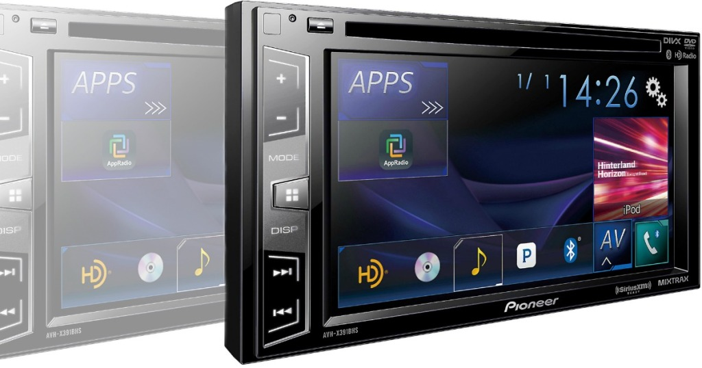 Best Buy Pioneer Bluetooth In Dash Dvd Cd Dm Receiver Only 199 98