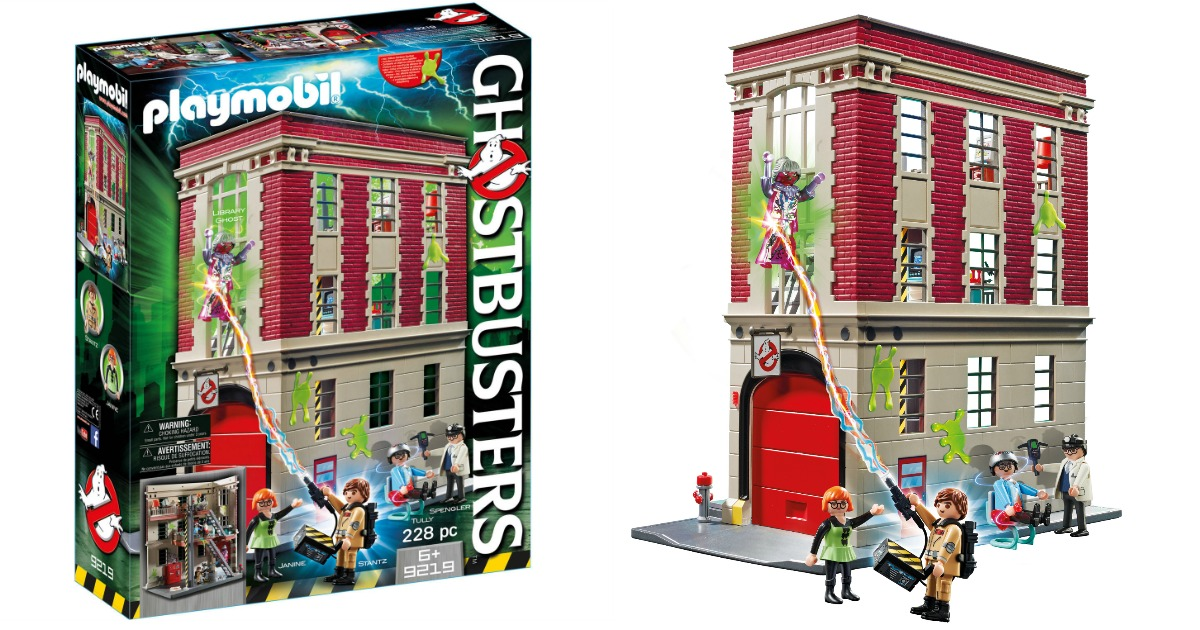 PLAYMOBIL Ghostbusters Firehouse Toys /& Games