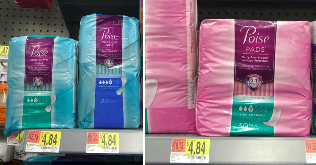 photo relating to Printable Coupon for Poise Pads named Clean $3/1 Poise Pads Coupon \u003d as Lower as $1.69 at Focus