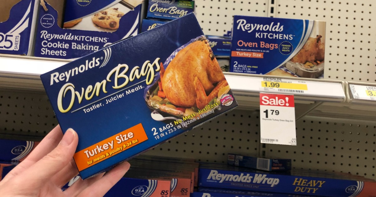 2 New Reynolds Product Coupons = Oven Bags as Low as $1.04 ...