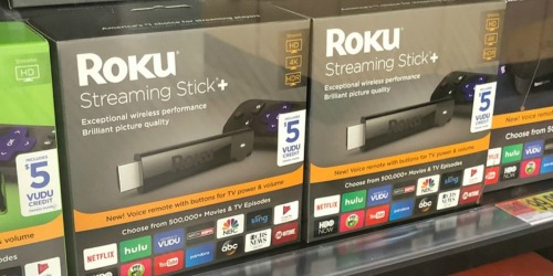 Roku Streaming Stick + 3 Months CBS All Access + Possible $5 VUDU Credit Only $49 Shipped