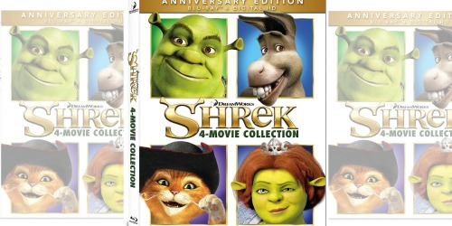 Shrek 4-Movie Blu-ray Collection as Low as $13.99 at Best Buy (Regularly $28)