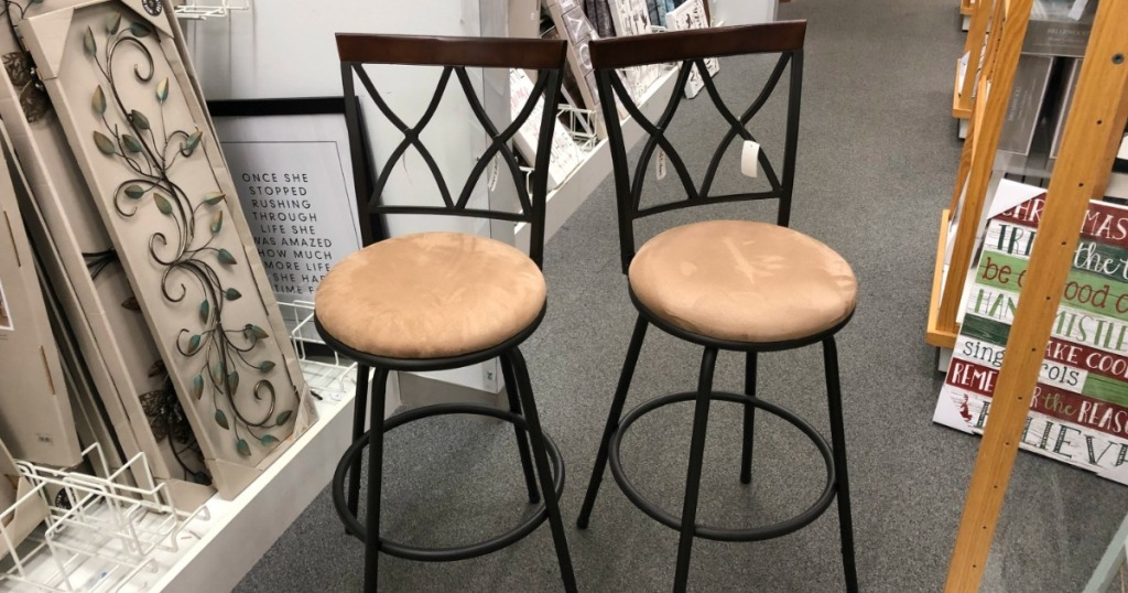 Superb Sonoma Goods For Life Shelton Stools 2 Pack Just 67 99 Andrewgaddart Wooden Chair Designs For Living Room Andrewgaddartcom