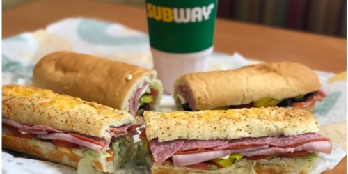$5 Off ANY Subway Order for Select PayPal Users | Check Your Inbox