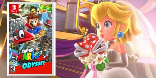 Super Mario Odyssey Nintendo Switch Game Just $43.99 Shipped