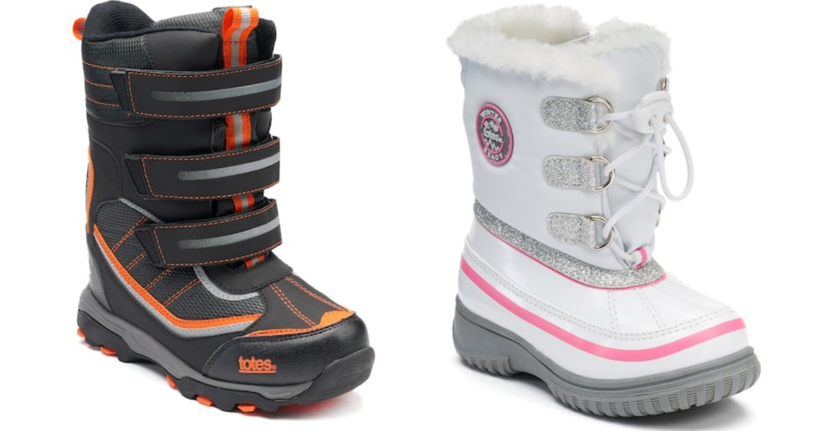 896de766b50bc Kohl s  Totes Kid s Winter Boots ONLY  17.99 Each Shipped - Hip2Save