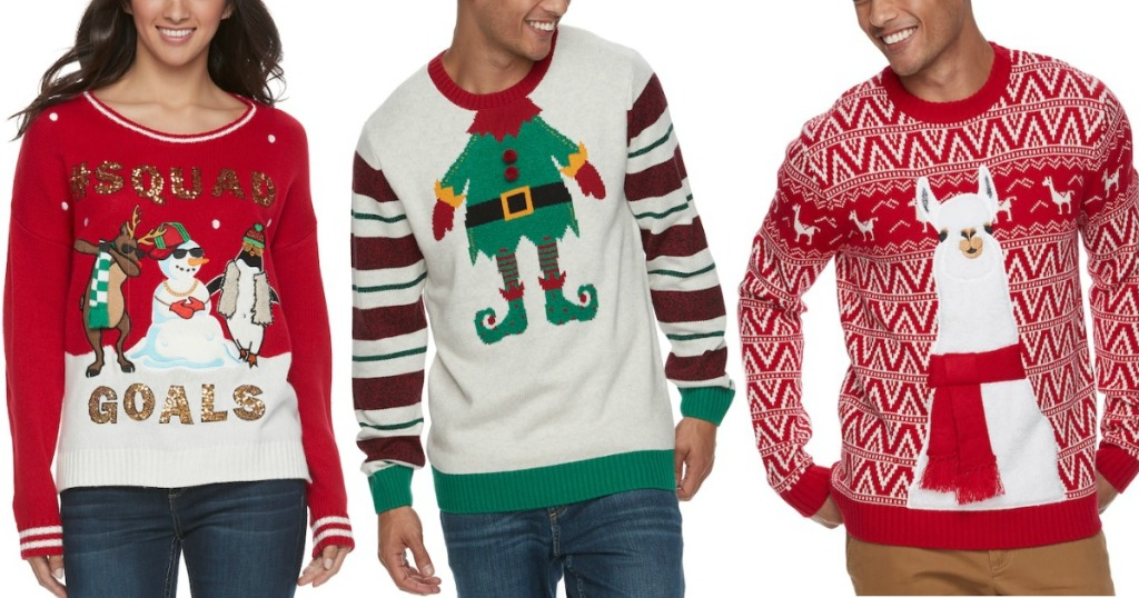 Ugly Christmas Sweaters Only 1699 At Kohls Regularly 60 More