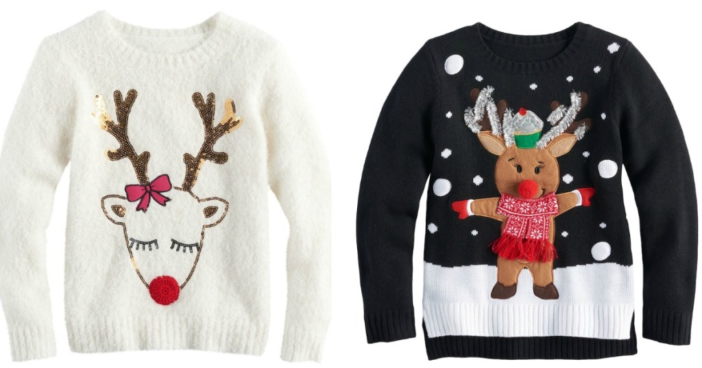Ugly Christmas Sweaters ONLY $16.99 at Kohl\'s (Regularly $60) + More ...